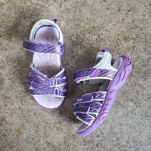 TEVA | Toddler girl purple strappy sandals